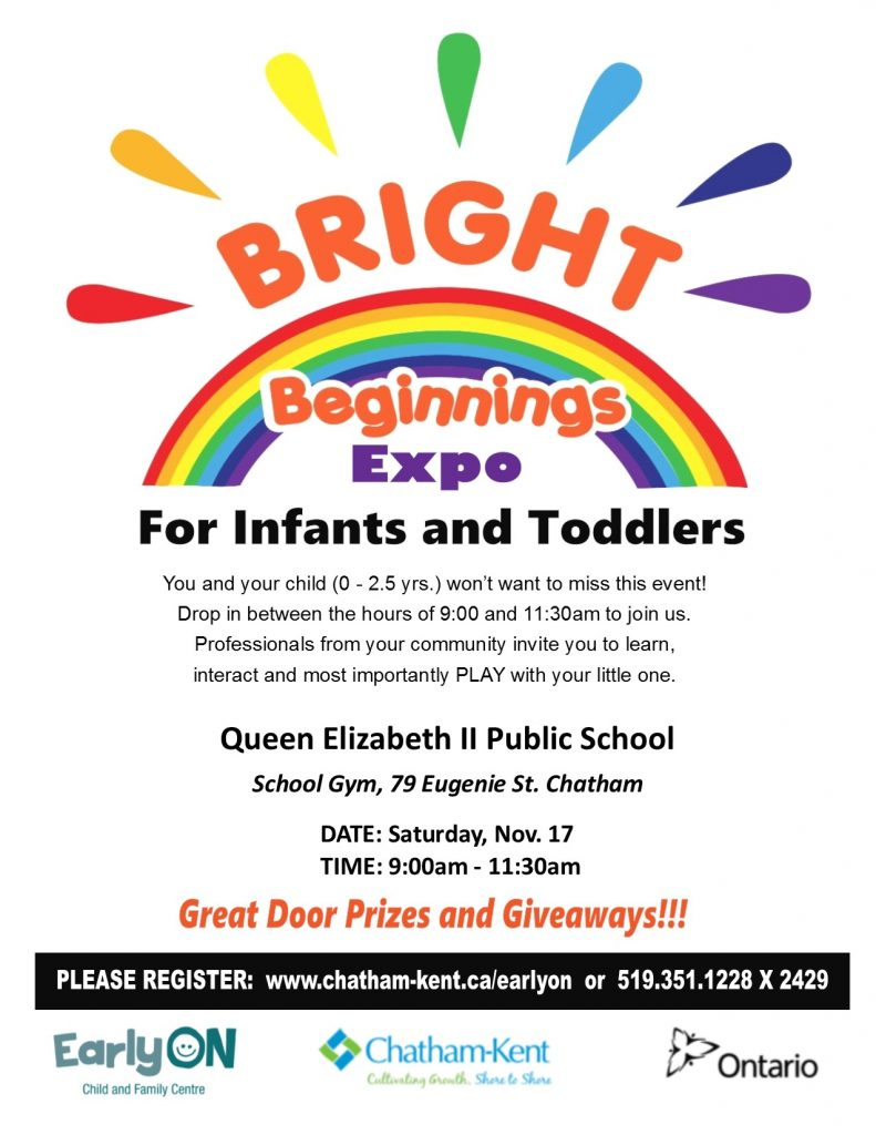 Bright Beginnings Expo for Infants and Toddlers
