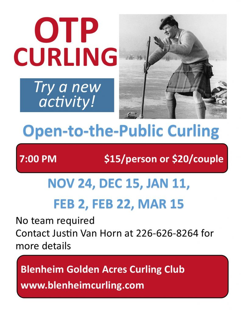 Open to the Public Curling