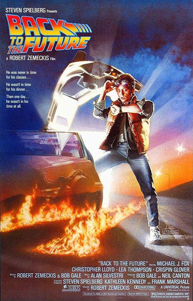 Free Family Friday Film Night showing Back to the Future