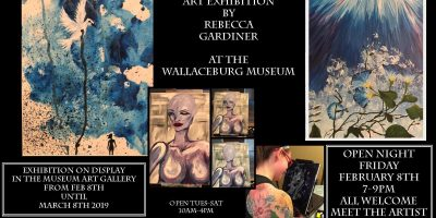 Prologue Art Exhibition by Becca Gardiner