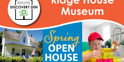 Ridge House Museum Spring Open House