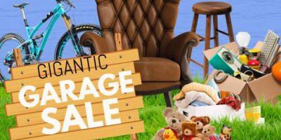 Gigantic Garage sale fundraiser for CK Animal Rescue