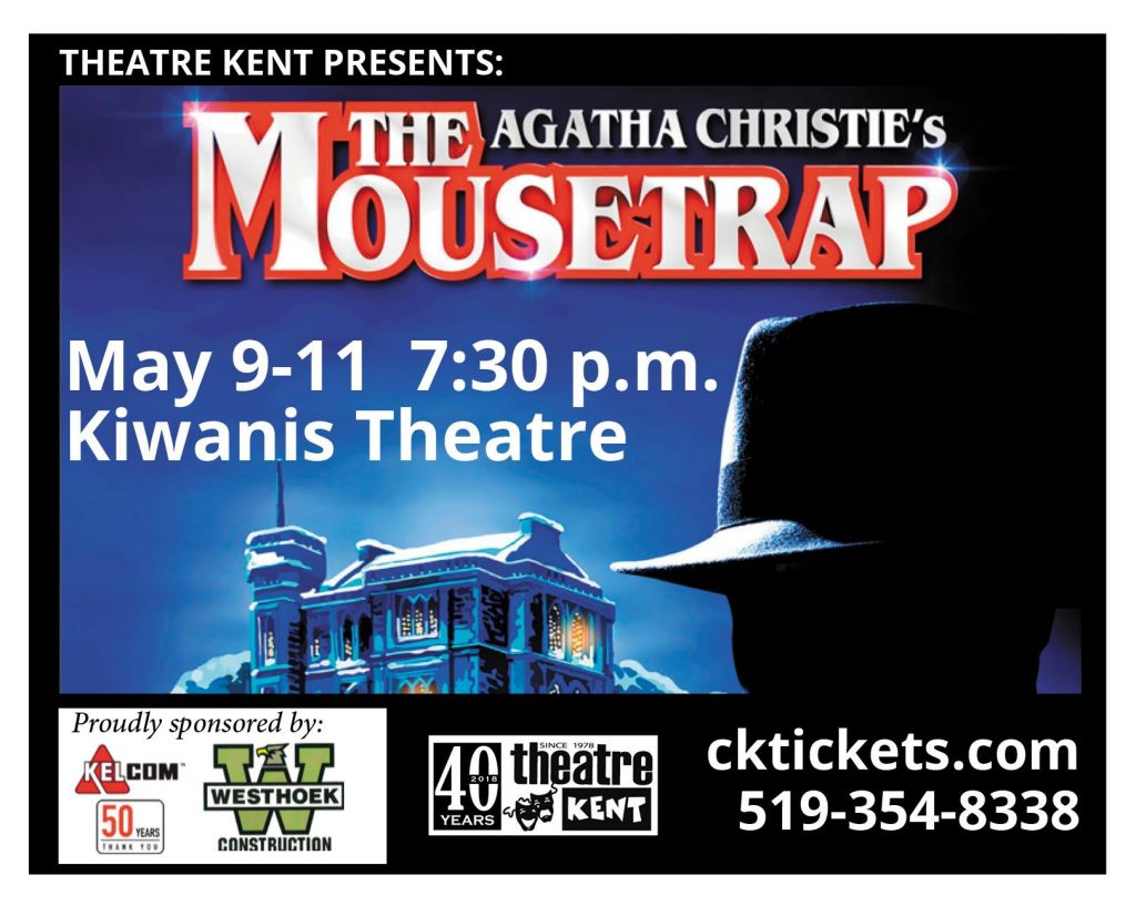 Theatre Kent presents: Agatha Christies - The Mousetrap