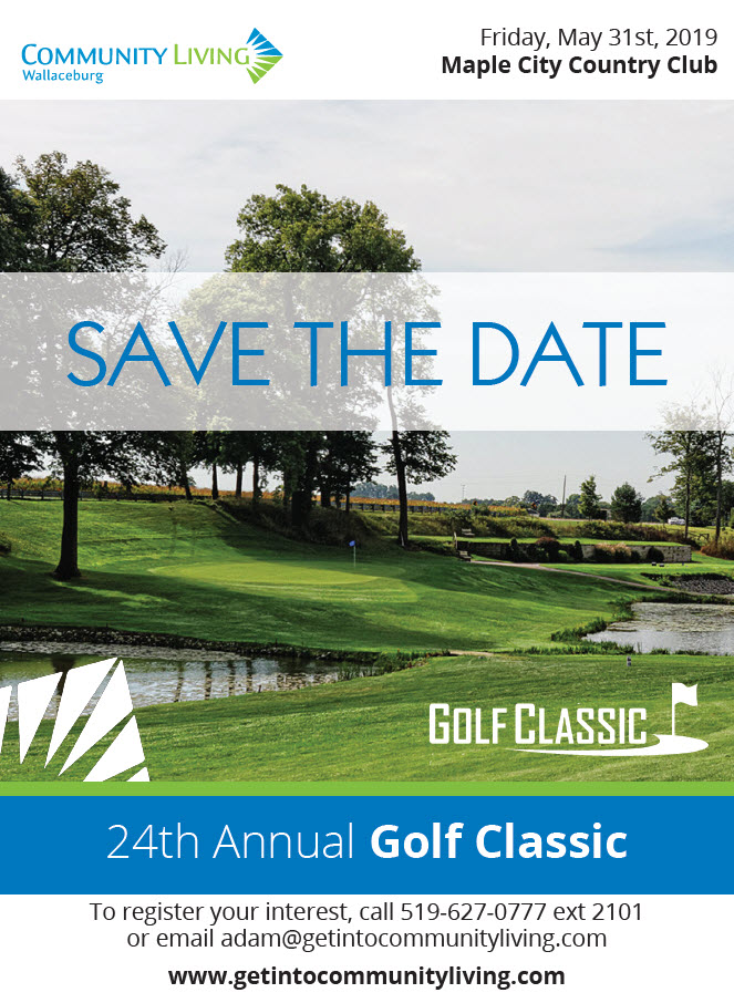 Community Living Wallaceburg's 24th Annual Golf Classic