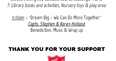 Dream Big with The Salvation Army