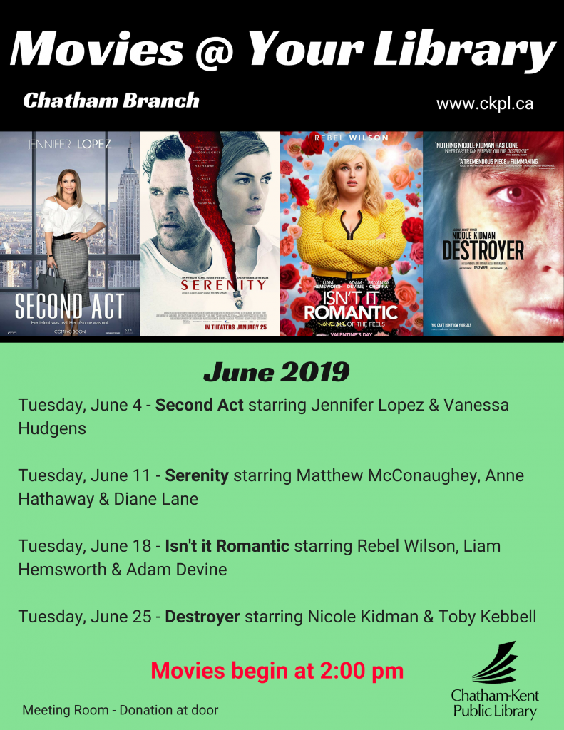 Movies @ Your Library