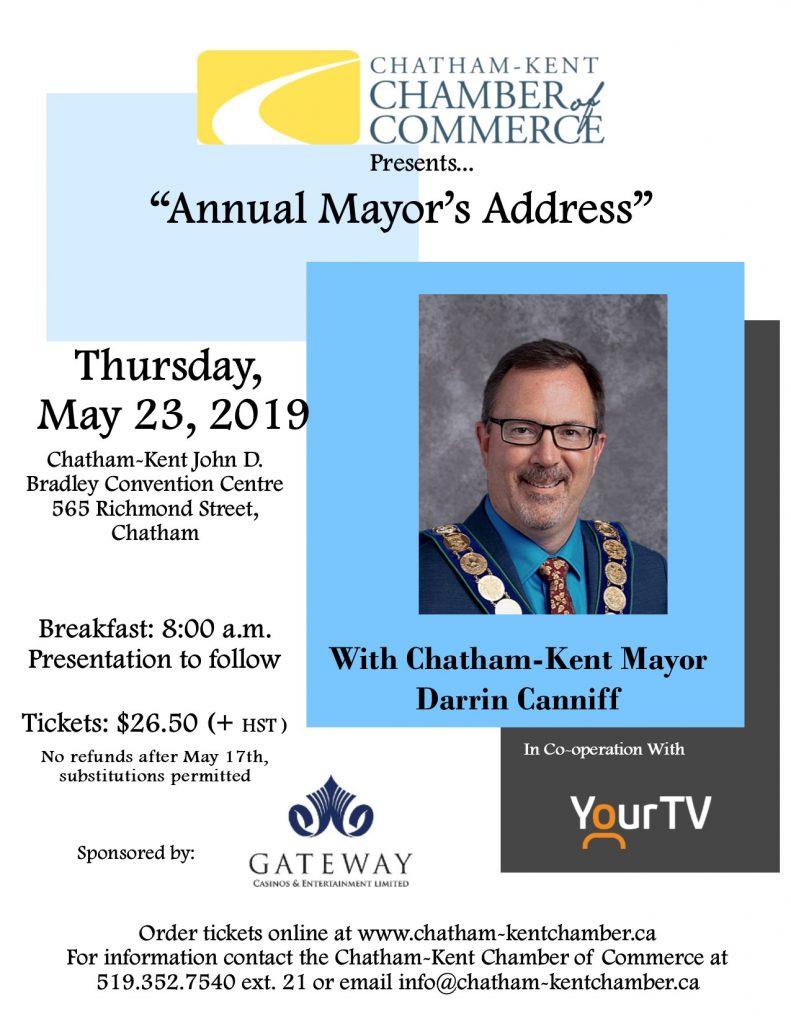 Annual Mayor's Address