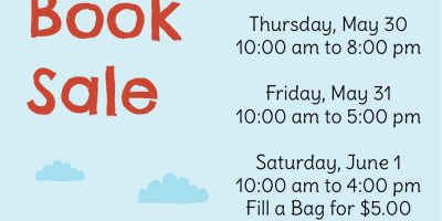 Chatham Branch Spring Book Sale