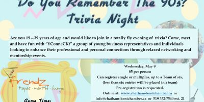 """YConneCKt- """"Do You Remember the '90s"""" Trivia Night"""