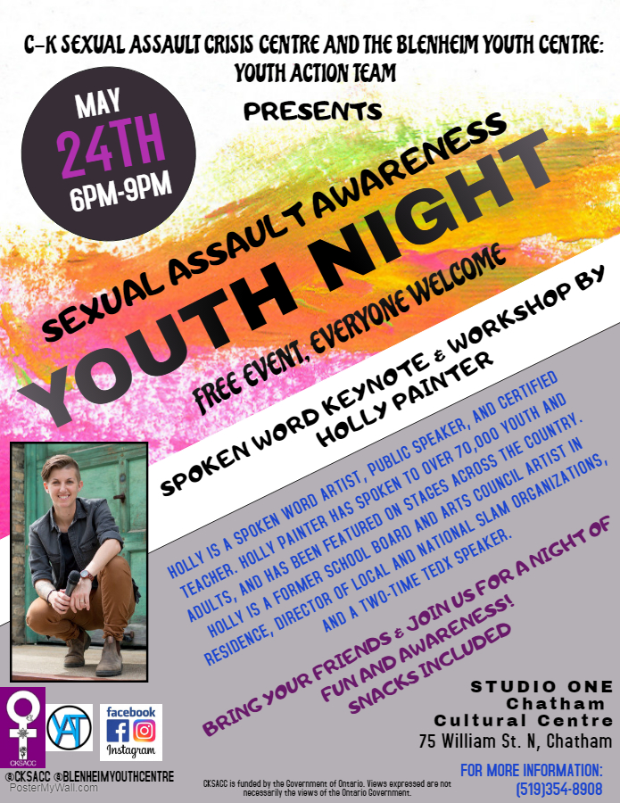 Sexual Assault Awareness Youth Night