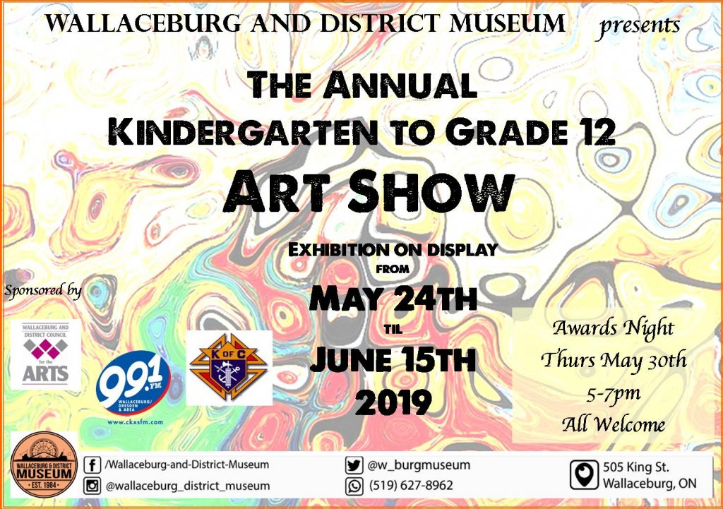 Closing Day of Youth Art Show Submissions