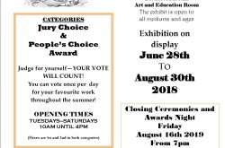 Juired Art Show on Display