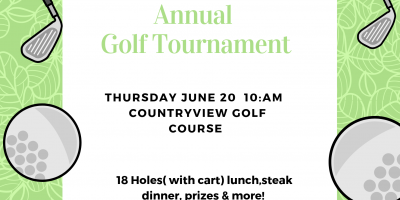 Annual Wallaceburg Golf Tournament